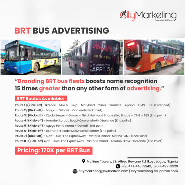 Ads Advert Advertise Advertising Agency, Billboard Blue Branding Brt Bus Buses Companies Company Cost Franchise How In Lag Lagbus Lagos Lamata, Limited, Media Month Nigeria Per Placing Rates Services