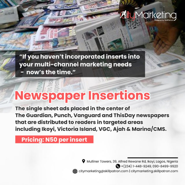 Newspaper Inserts